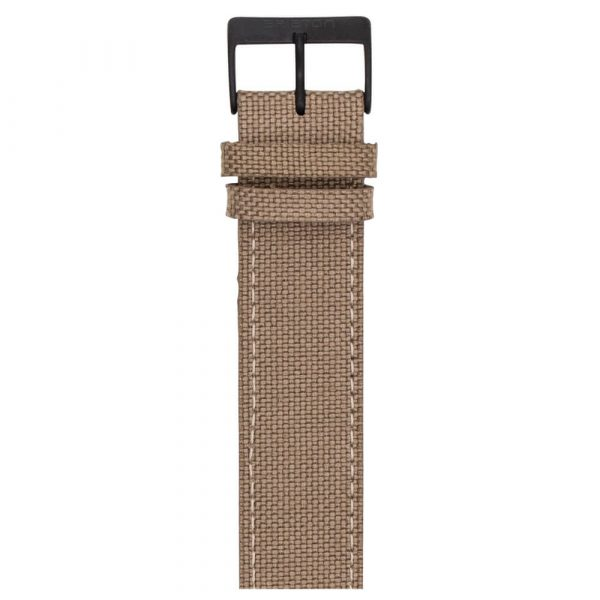 leather-strap-canvas-khaki-NLS20-PVD-K