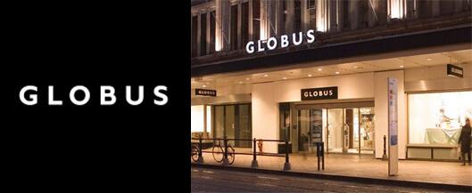 Globus Genève revendeur Briston