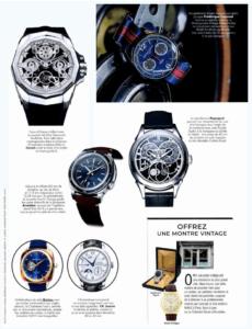 Montres Magazine- 2019-11- Iconic gold bleu