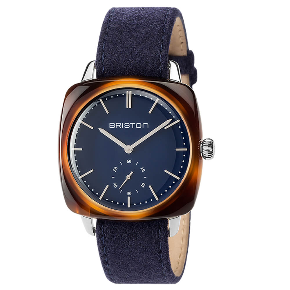 photo-clubmaster-vintage-small-second-navy-dial