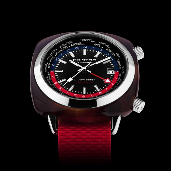 Close-up Clubmaster Traveler Worldtime Acétate 20842-SA-TW-P-NR