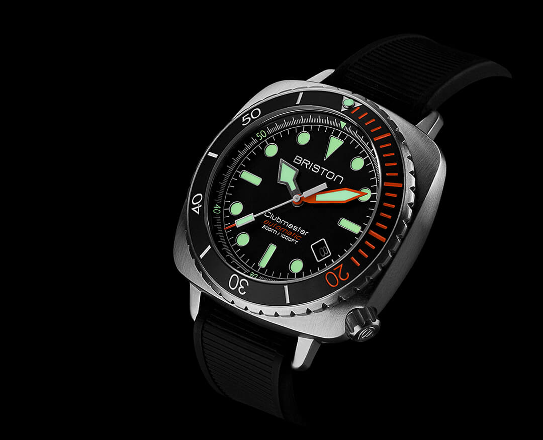 Clubmaster Diver Pro steel 20644-S-DP-35-RB