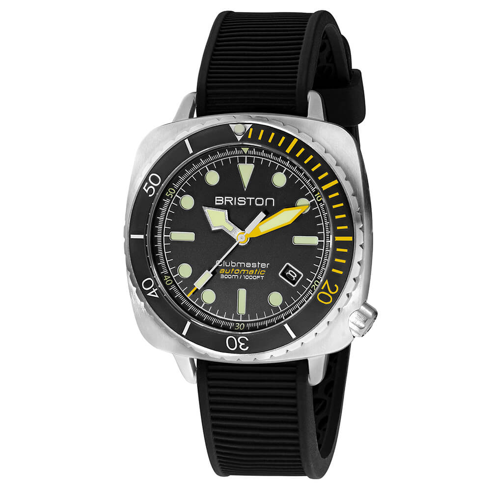 Clubmaster Diver Pro Steel 20644-S-DP-34-RB
