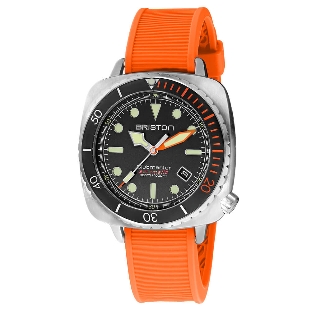 clubmaster-diver-pro-steel-rubber-20644-S-DP-35-RB