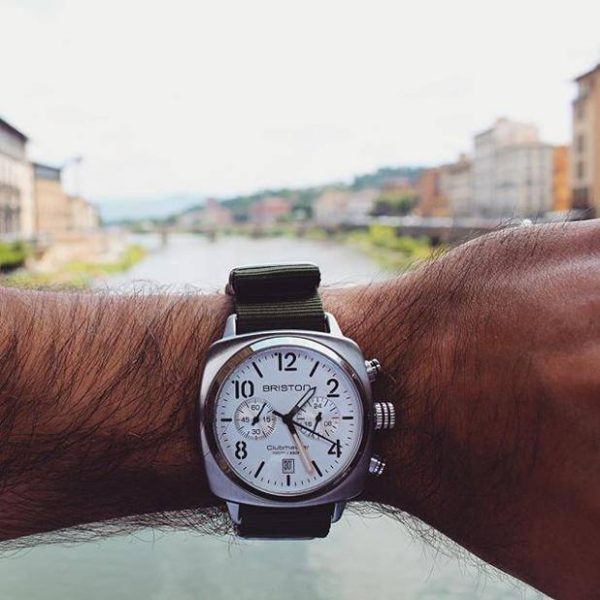 Lifestyle-clubmaster-classic-steel-chrono-white-dial-16140.S.C.2.LVB