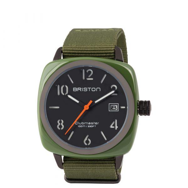 briston-clubmaster-Classic-hms-green-army-pvd-black-14240-PBA-574-3-NGA