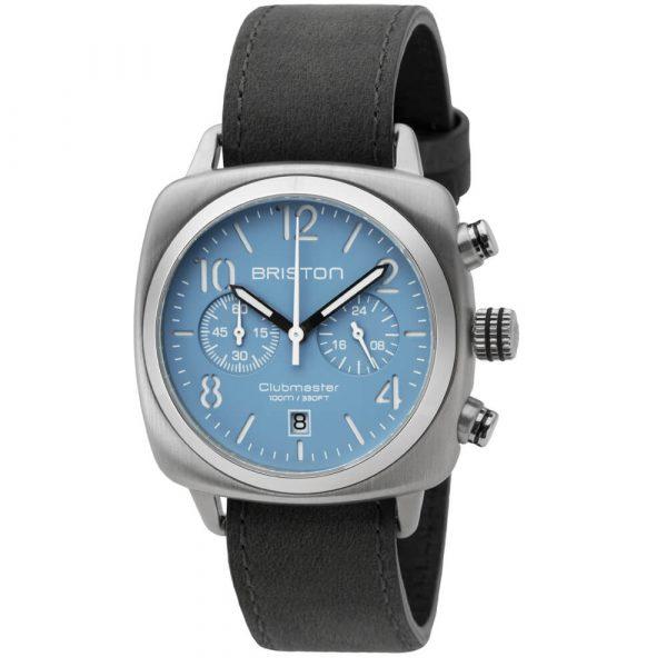 clubmaster-classic-steel-chrono-matt-light-blue-dial-16140.S.C.18.LVB