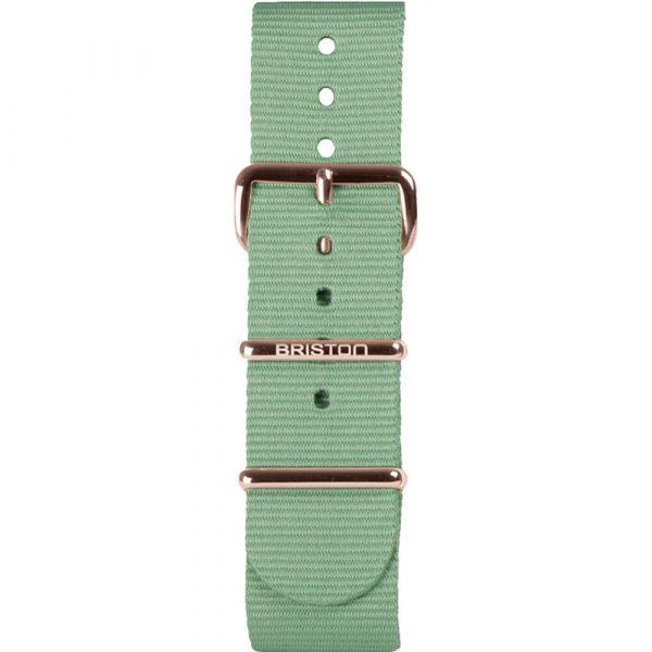 Bracelet NATO vert d'eau NS20.PVDRG.GW
