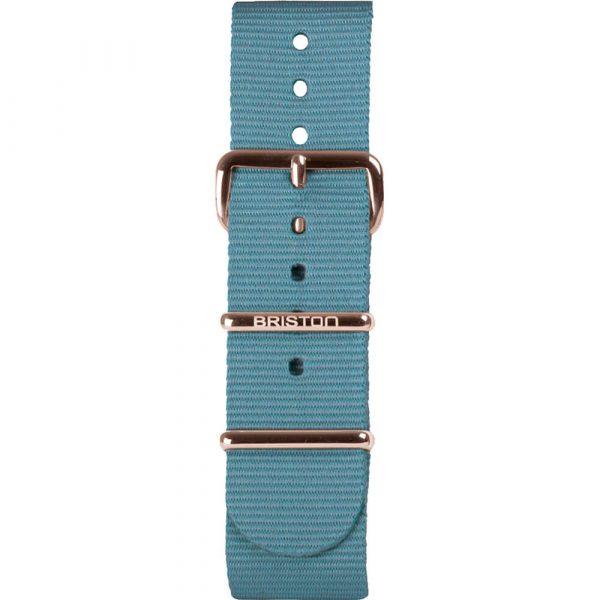 Bracelet NATO bleu glacier NS20.PVDRG.IB