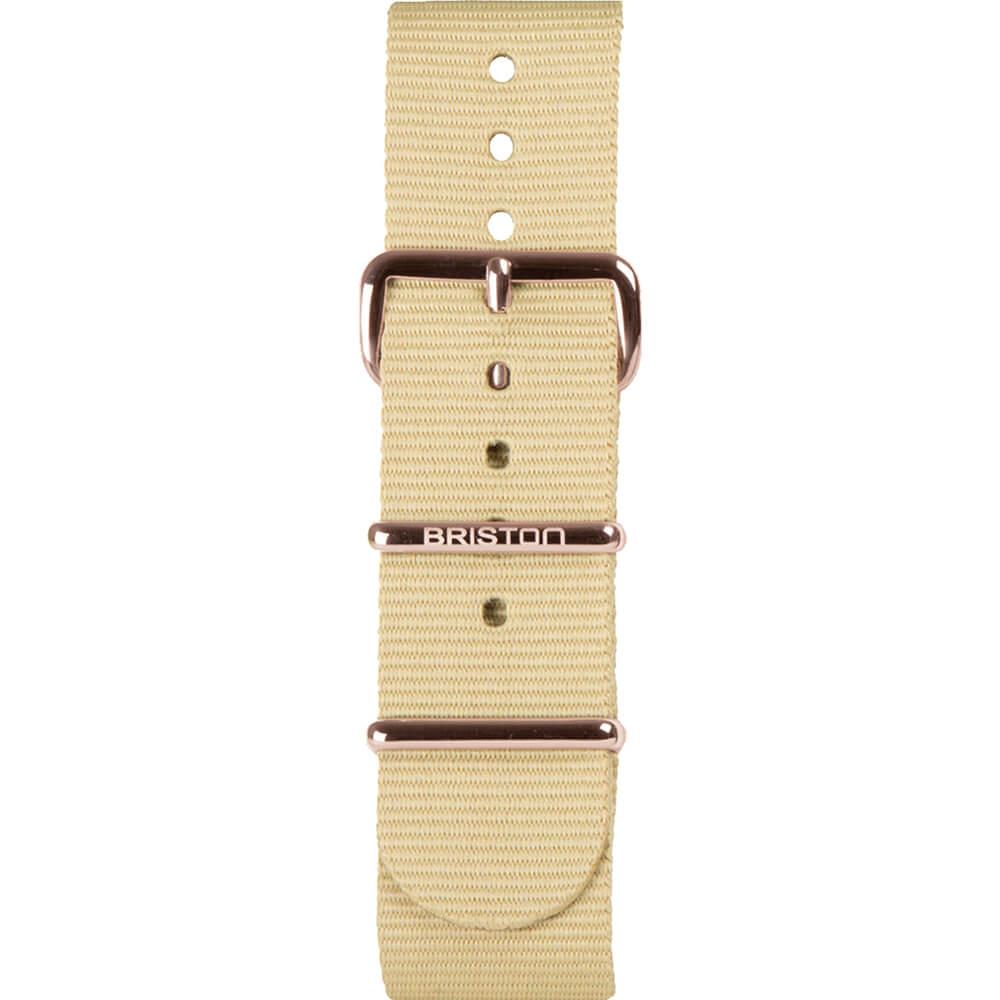 Bracelet NATO vanille NS20.PVDRG
