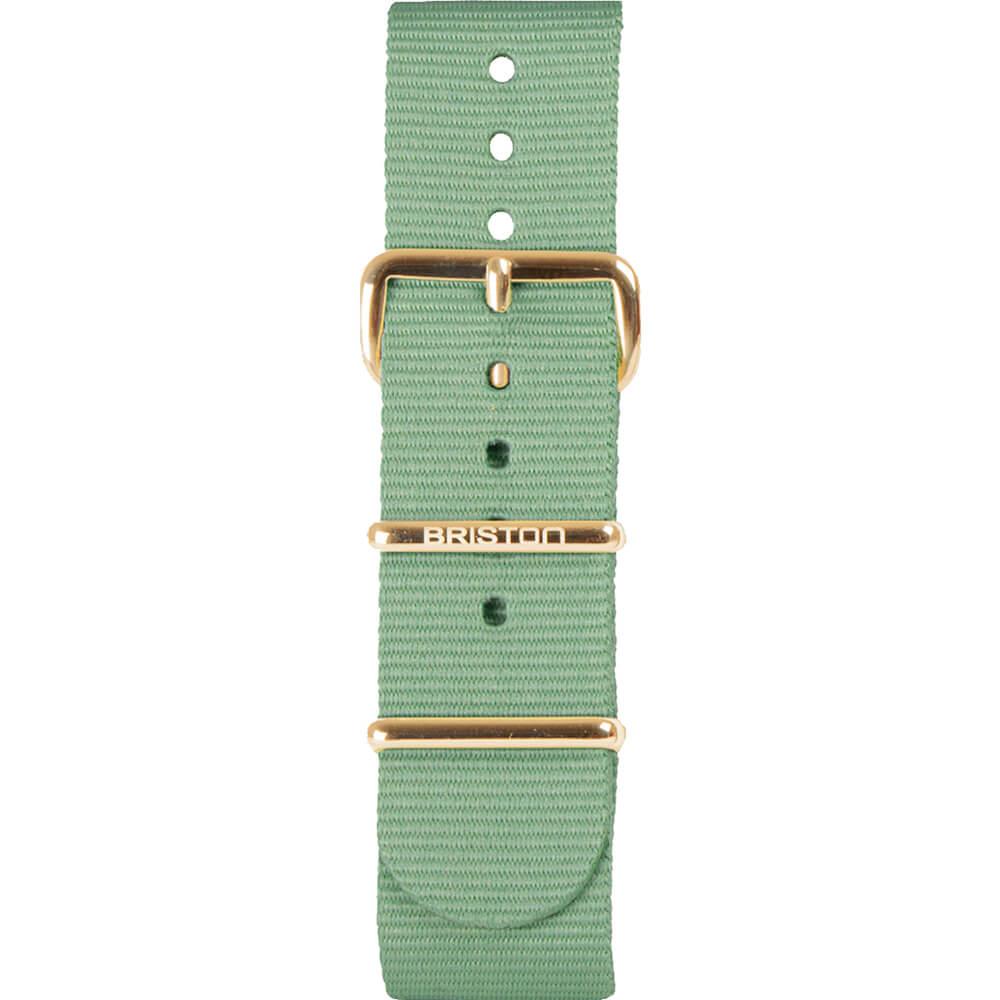 Bracelet NATO vert d'eau NS20.PVDYG.GW