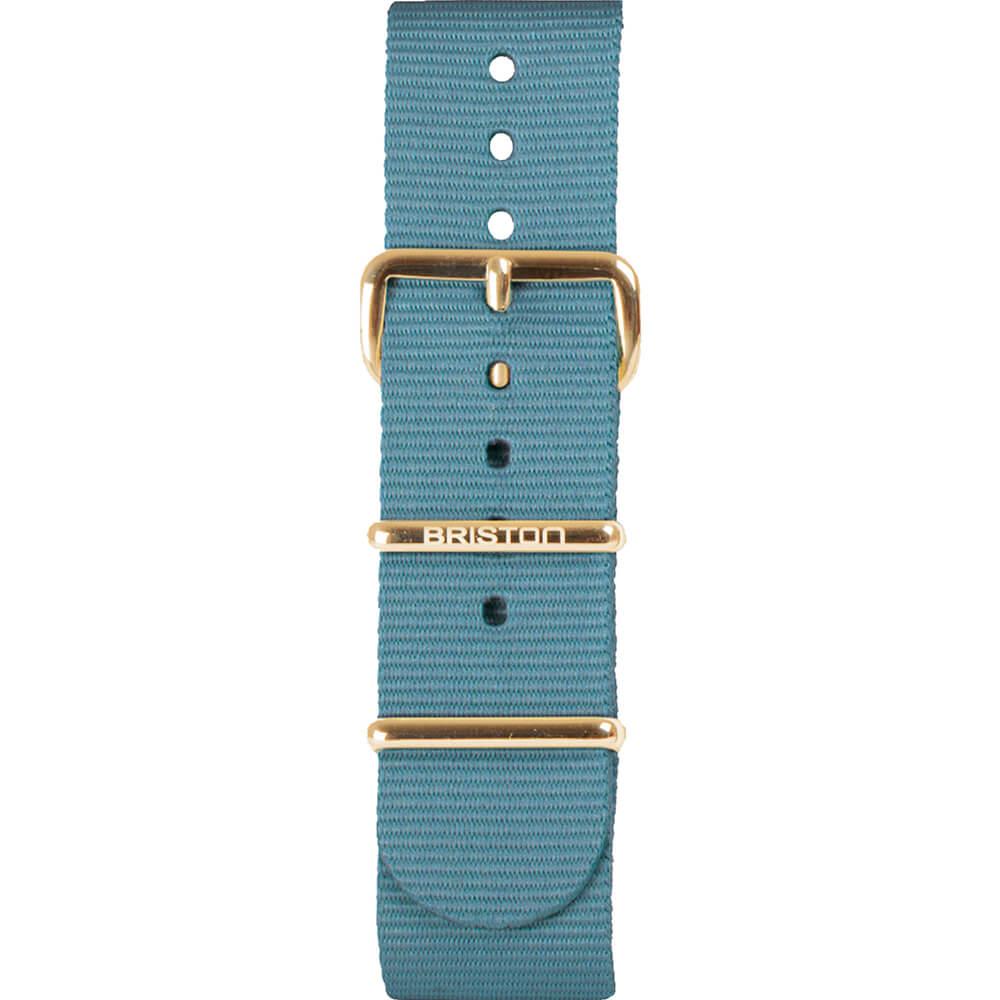 Bracelet NATO bleu glacier NS20.PVDYG.IB