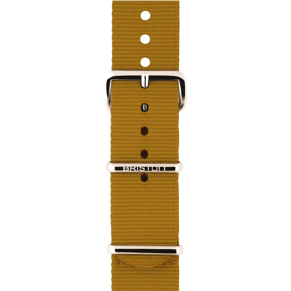 Bracelet NATO moutarde NS20.PVDYG.MU