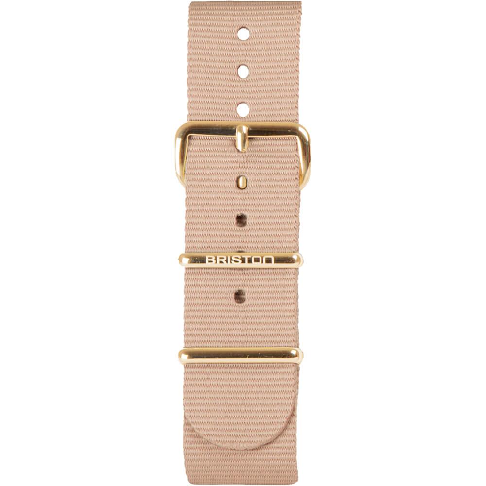 Bracelet NATO nude NS20.PVDYG.TN