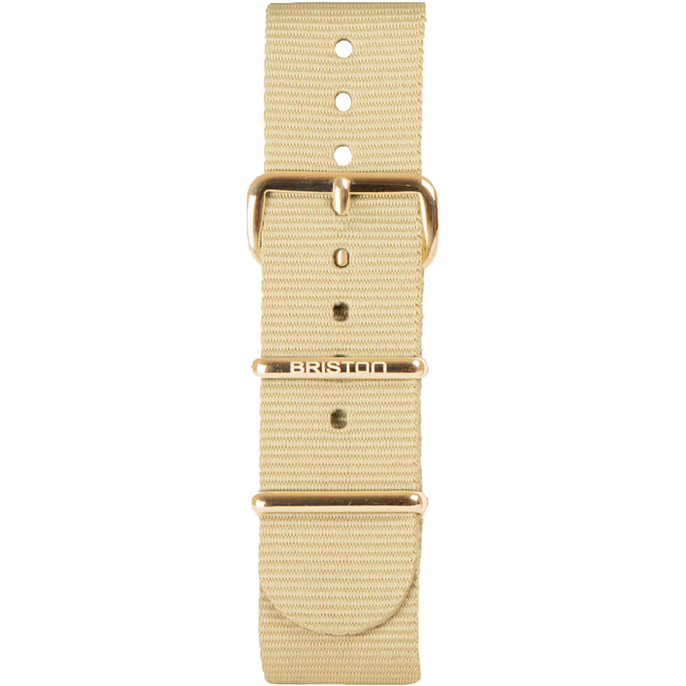 Bracelet NATO vanille NS20.PVDYG.TV