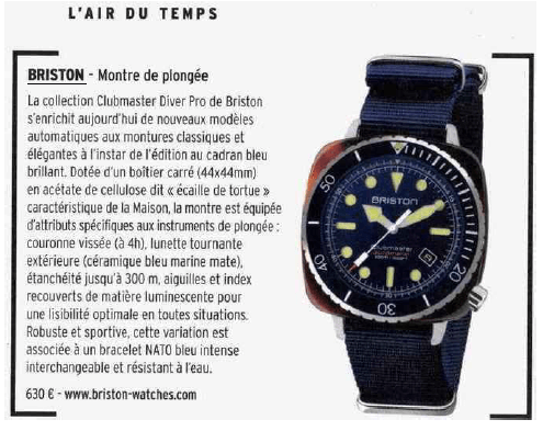 Figaro Magazine - 2021-06-04-Diver Pro New
